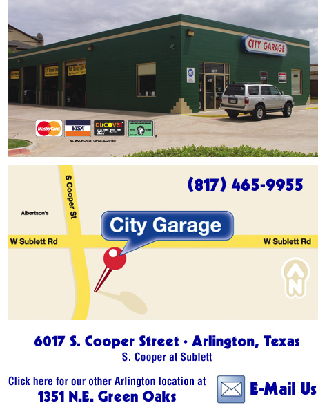 City Garage Garland Texas